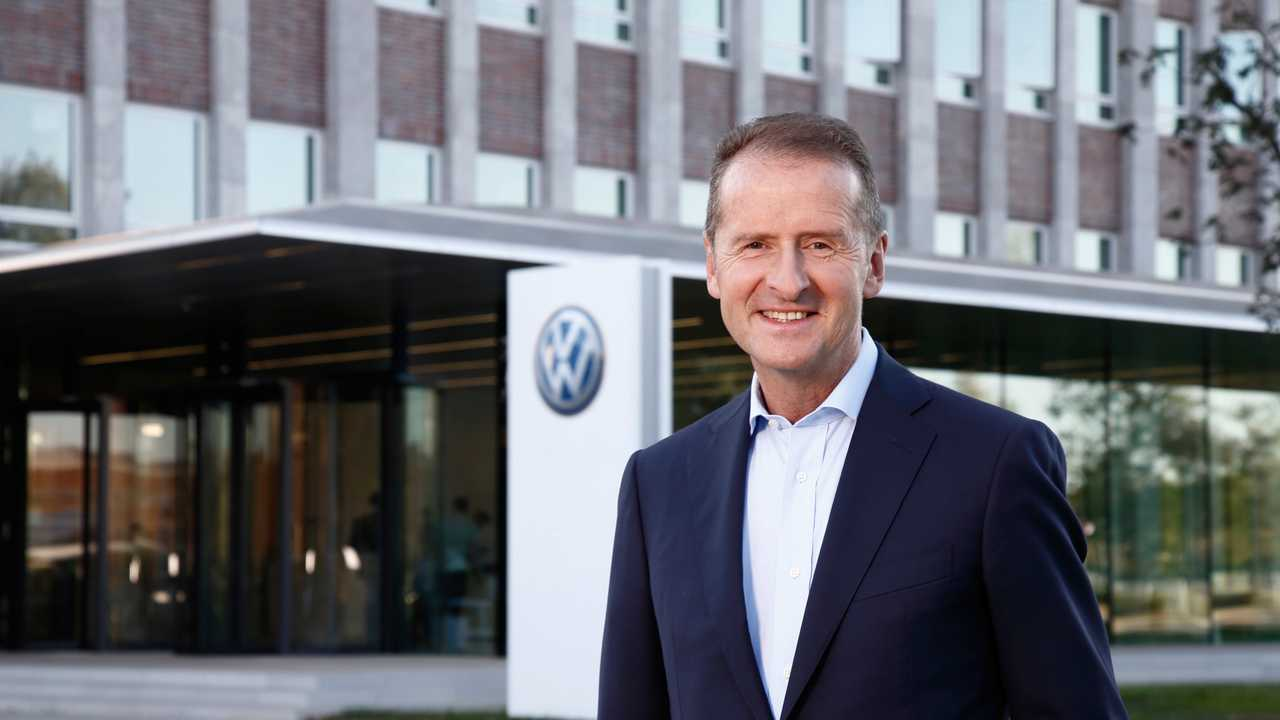 Harbert Diess VW-séf