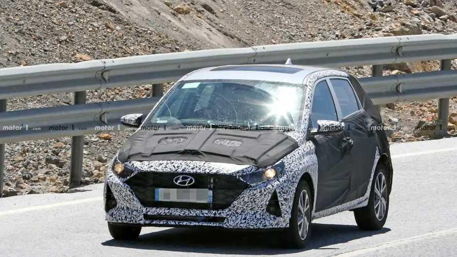 New Hyundai i10 spy photos