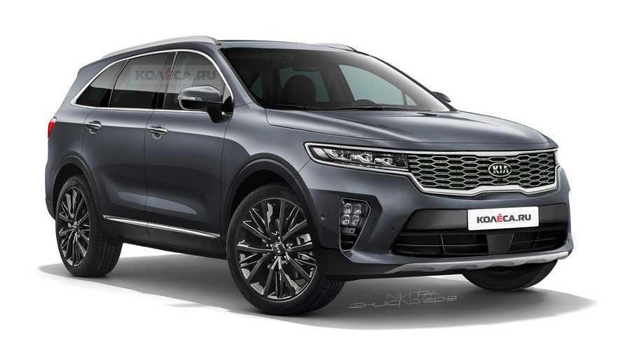 Next-gen Kia Sorento render gives us a peek at its future redesign