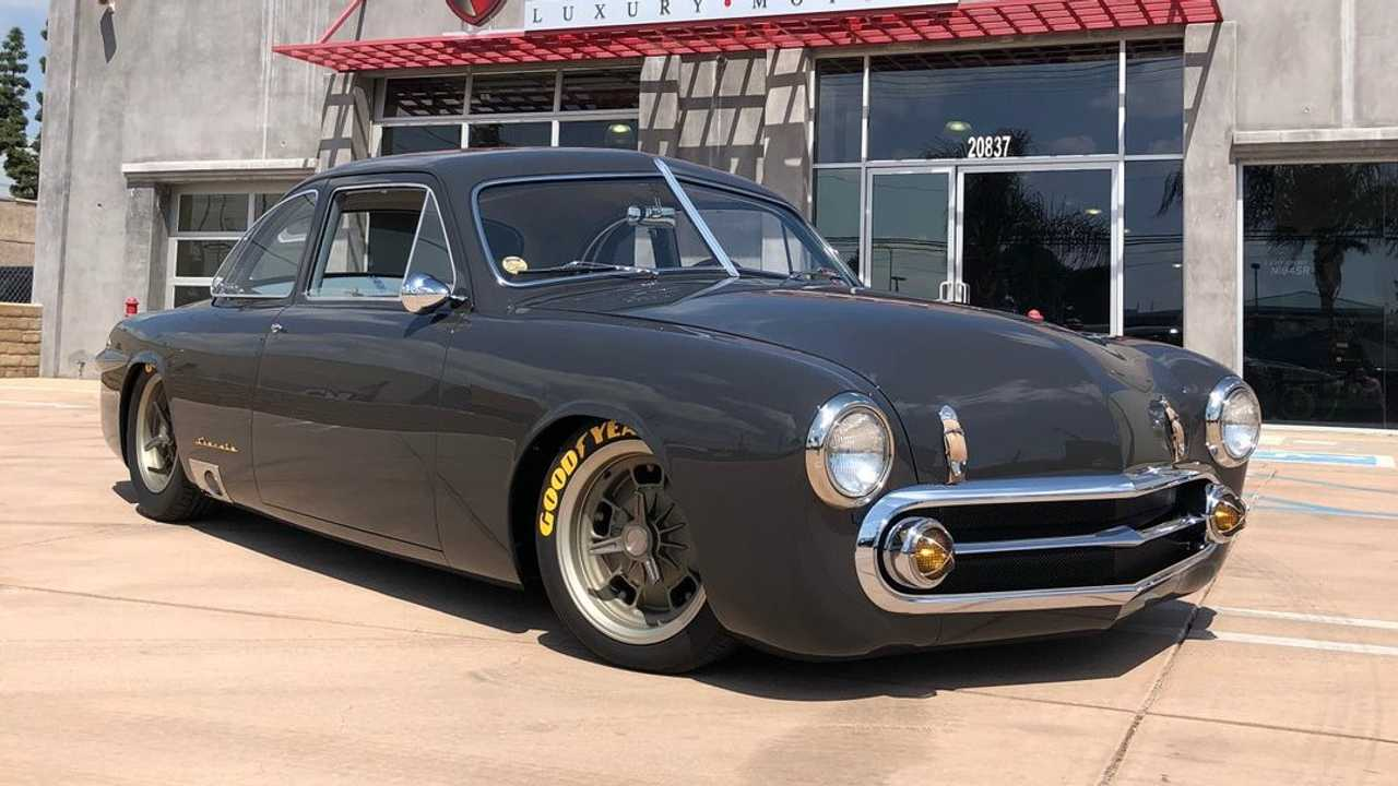 1951 Ford Coupe Inspired By '50s-Era European Racecars