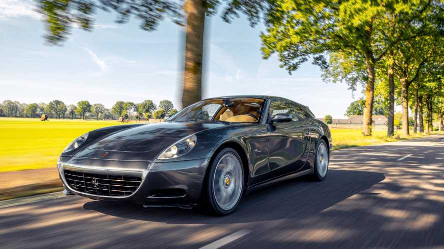 Ferrari 612 Scaglietti shooting brake is a timeless beauty