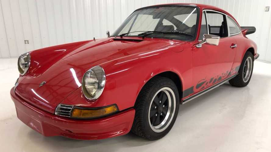 Ohio Garage Find Porsche Turns Out To Be Rare 1970 2.2-liter 911 E