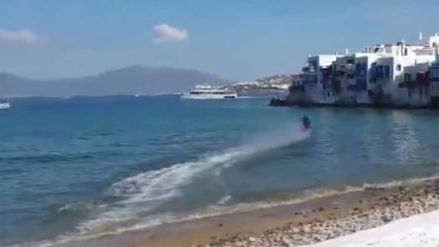 Jesus Take The Handlebar: Robbie Maddison Rides On Water