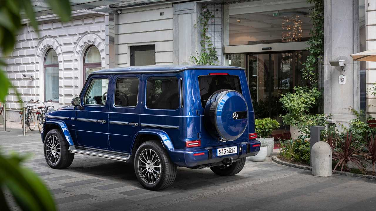 Mercedes Celebrates G Class Anniversary With Exclusive Puddle Lamps