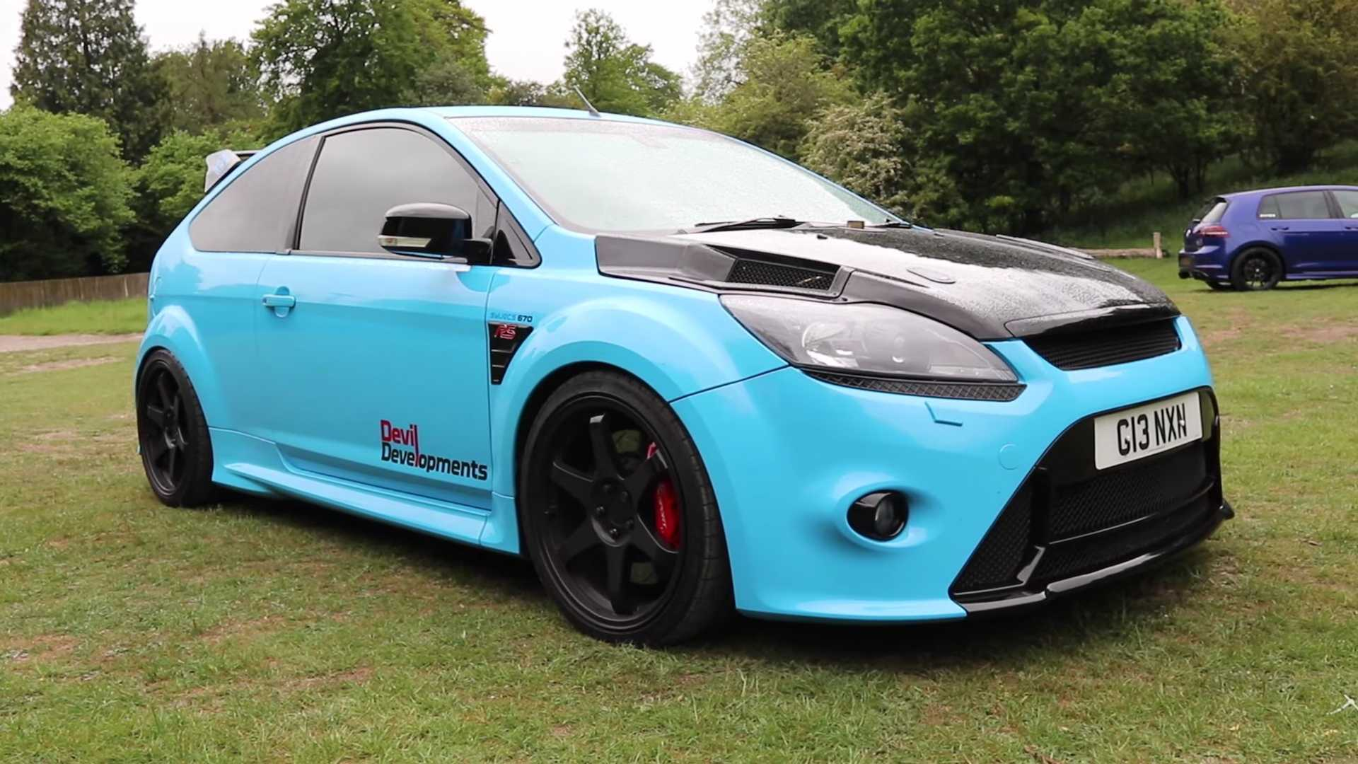 Ford Focus Rs Hp >> Be Amazed By This 900 Horsepower Flame Spitting Fwd Focus