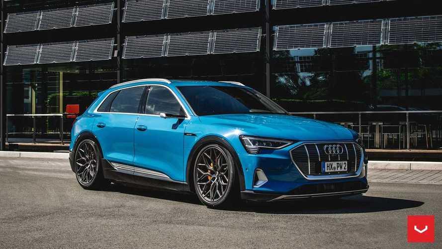 Audi e-tron par Vossen