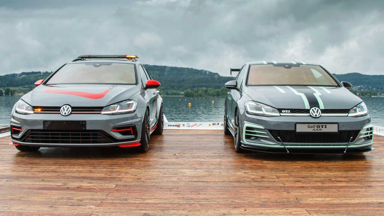 VW Golf GTI Aurora et Golf Estate R 4MOTION FighterR