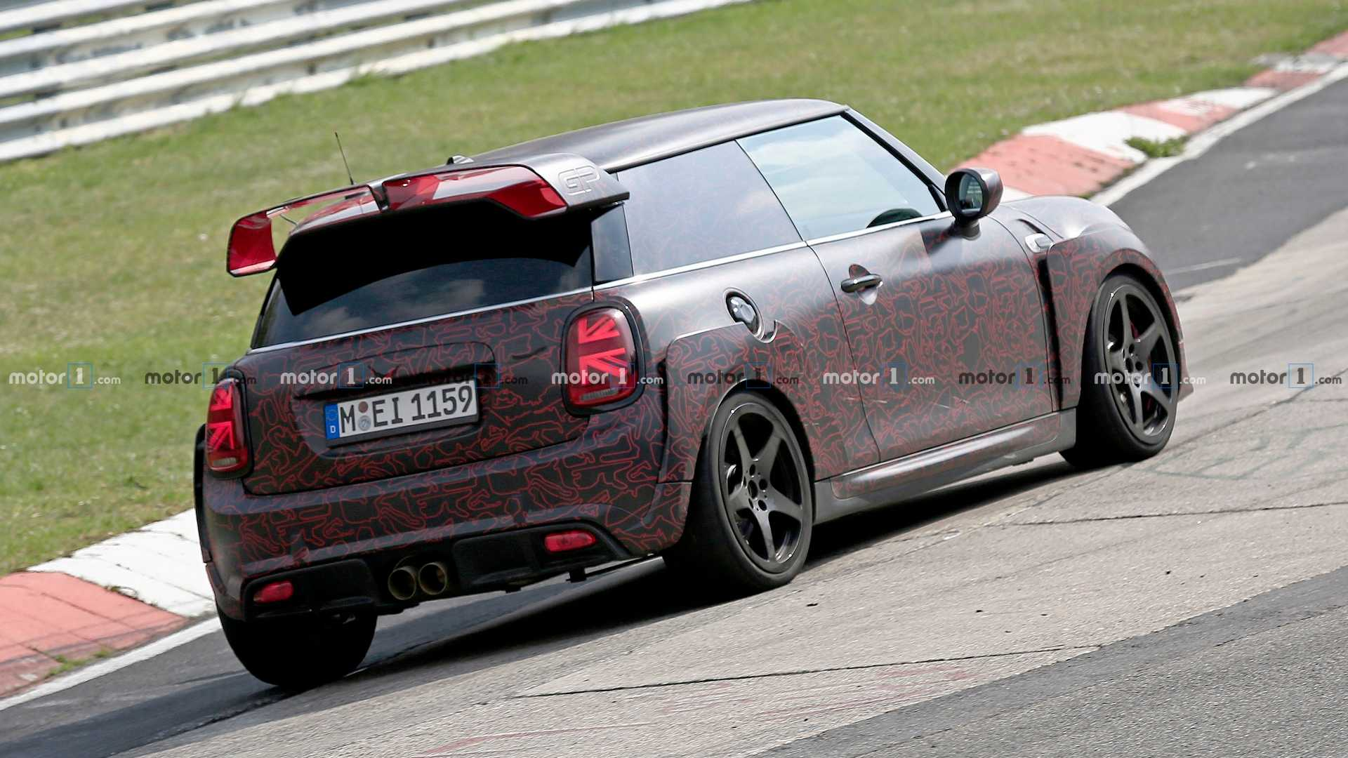 2020 Mini Cooper Jcw Gp Spied Testing At The Ring Update