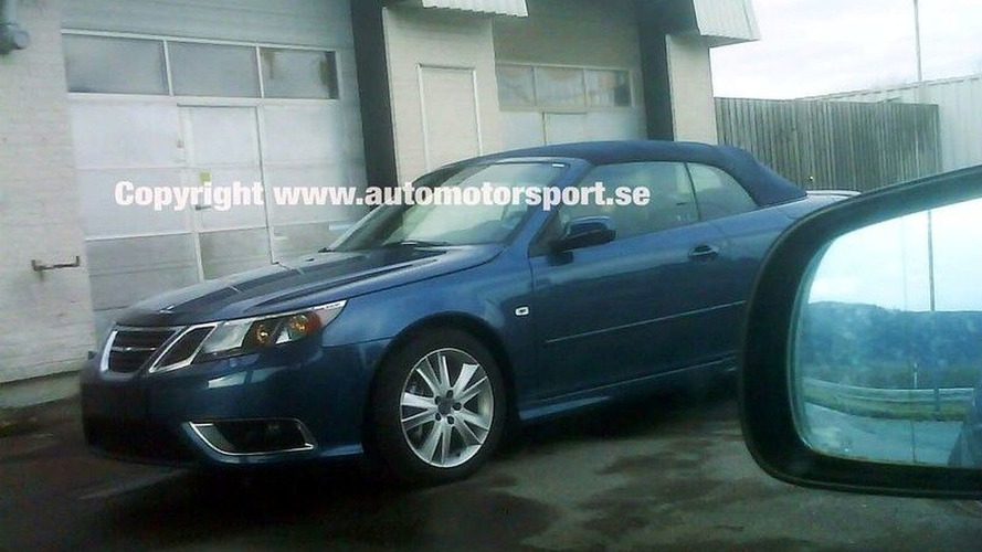 Saab 9-3 Facelift Uncovered