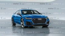 Audi RS7 Sportback 2019, il rendering