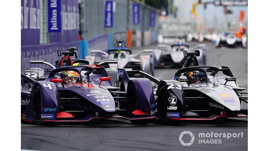 Will Yellow Card Warning Prevent Formula E Demolition Derby?