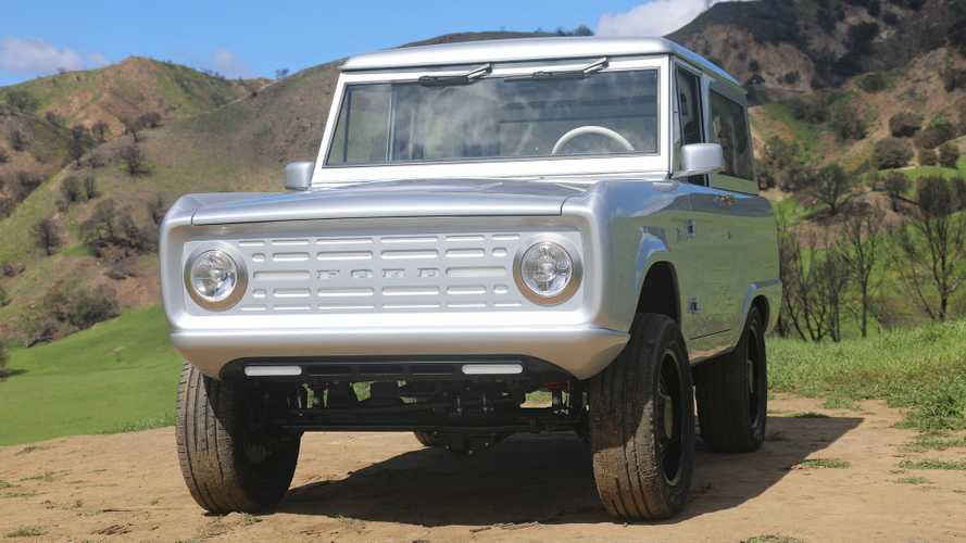 This Classic Ford Bronco Is Fully Electric And To Die For