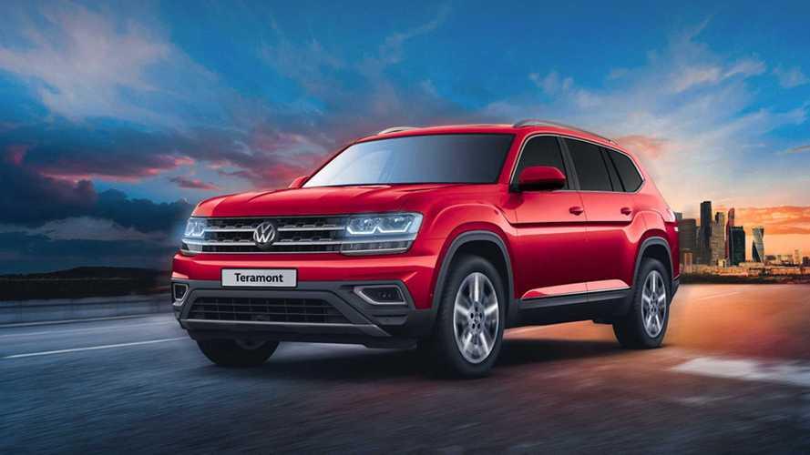 Большой кроссовер Volkswagen потерял в России часть лошадиных сил