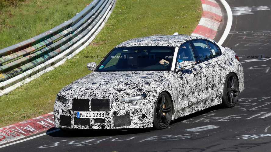 2020 BMW M3 Spied Attacking The Nürburgring