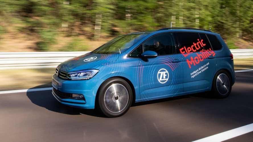 ZF präsentiert Zweigang-Getriebe für Elektroautos