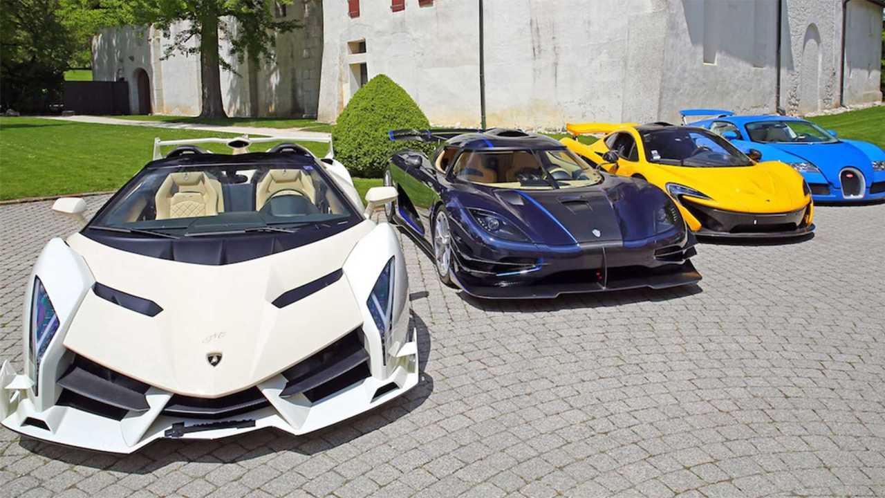 Politician's $13 Million Supercar Collection Seized For Auction