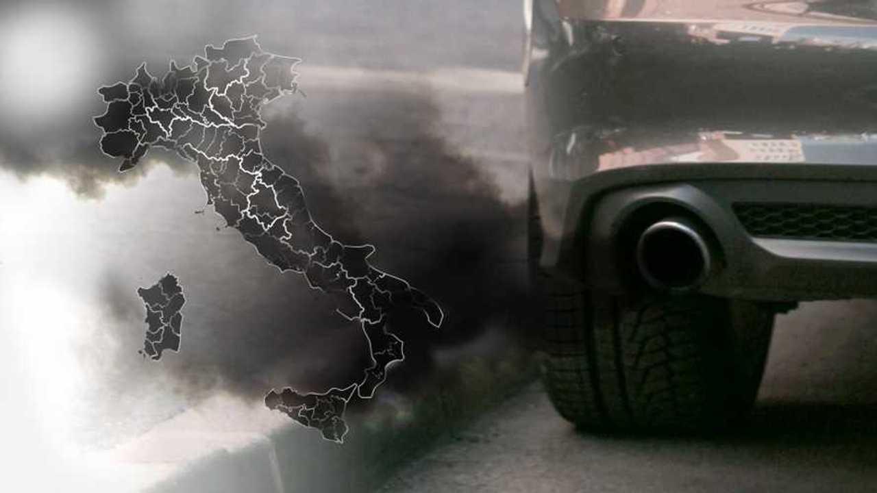 Copertina due Auto diesel, dove sono i blocchi in Italia