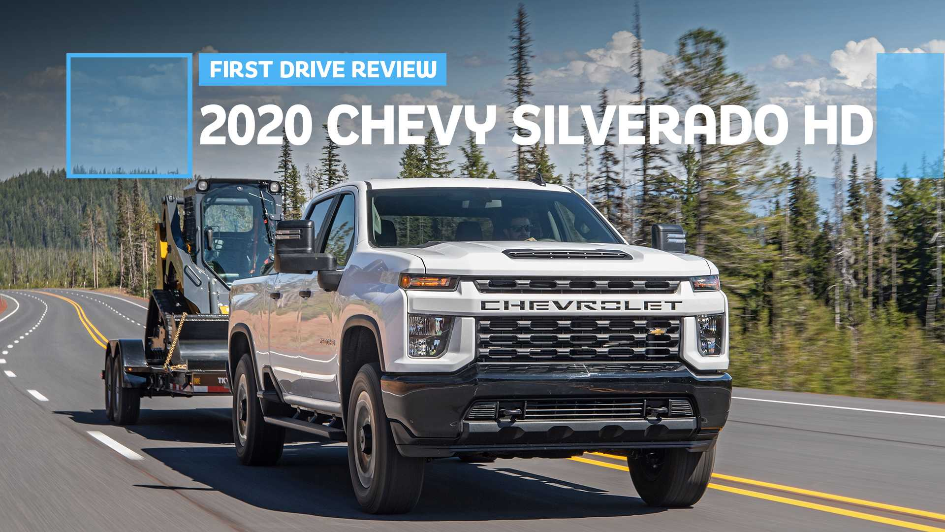 Silverado 2500 Towing Capacity >> 2020 Chevrolet Silverado Hd First Drive Punishing