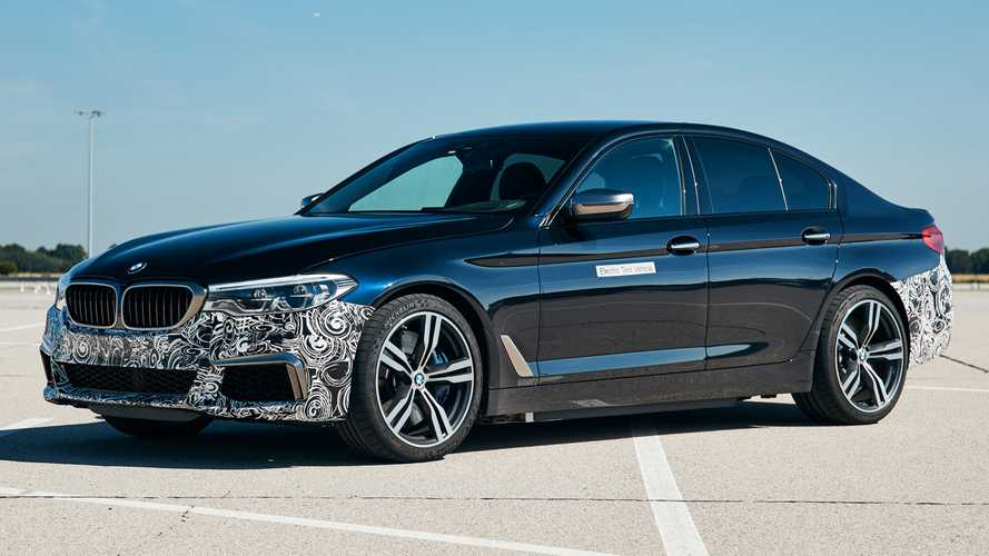 BMW 5 Series electric experimental vehicle packs 7,375 lb-ft