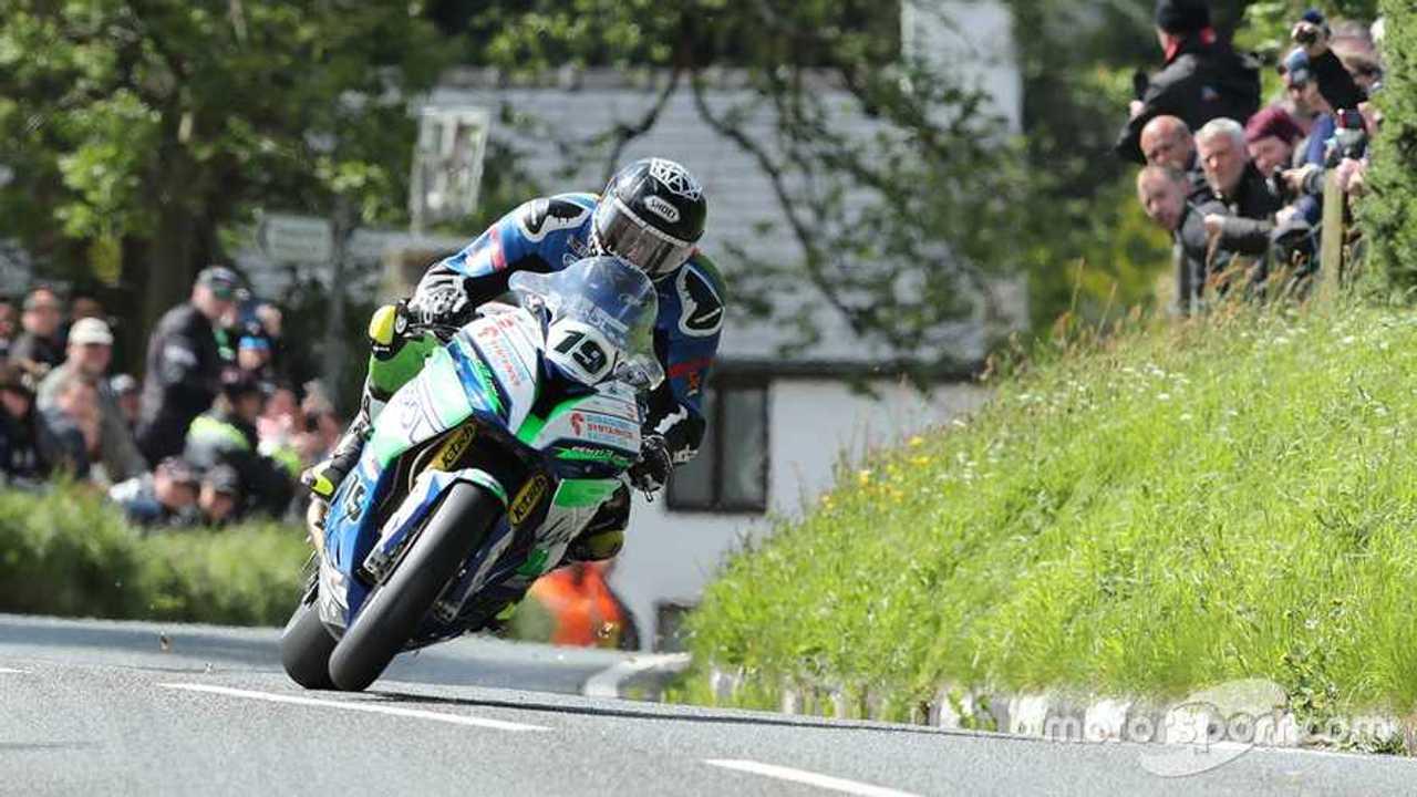 Daley Mathison at Isle of Man TT 2019