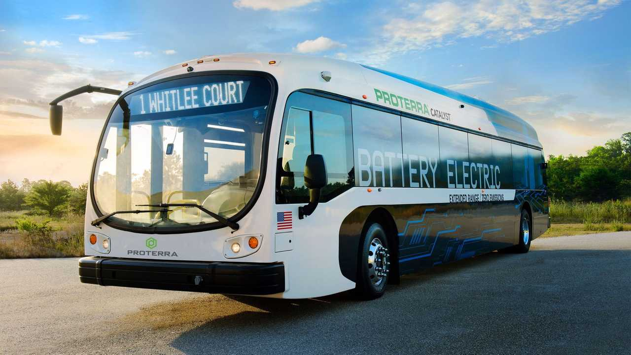 Proterra Catalyst electric bus (40')