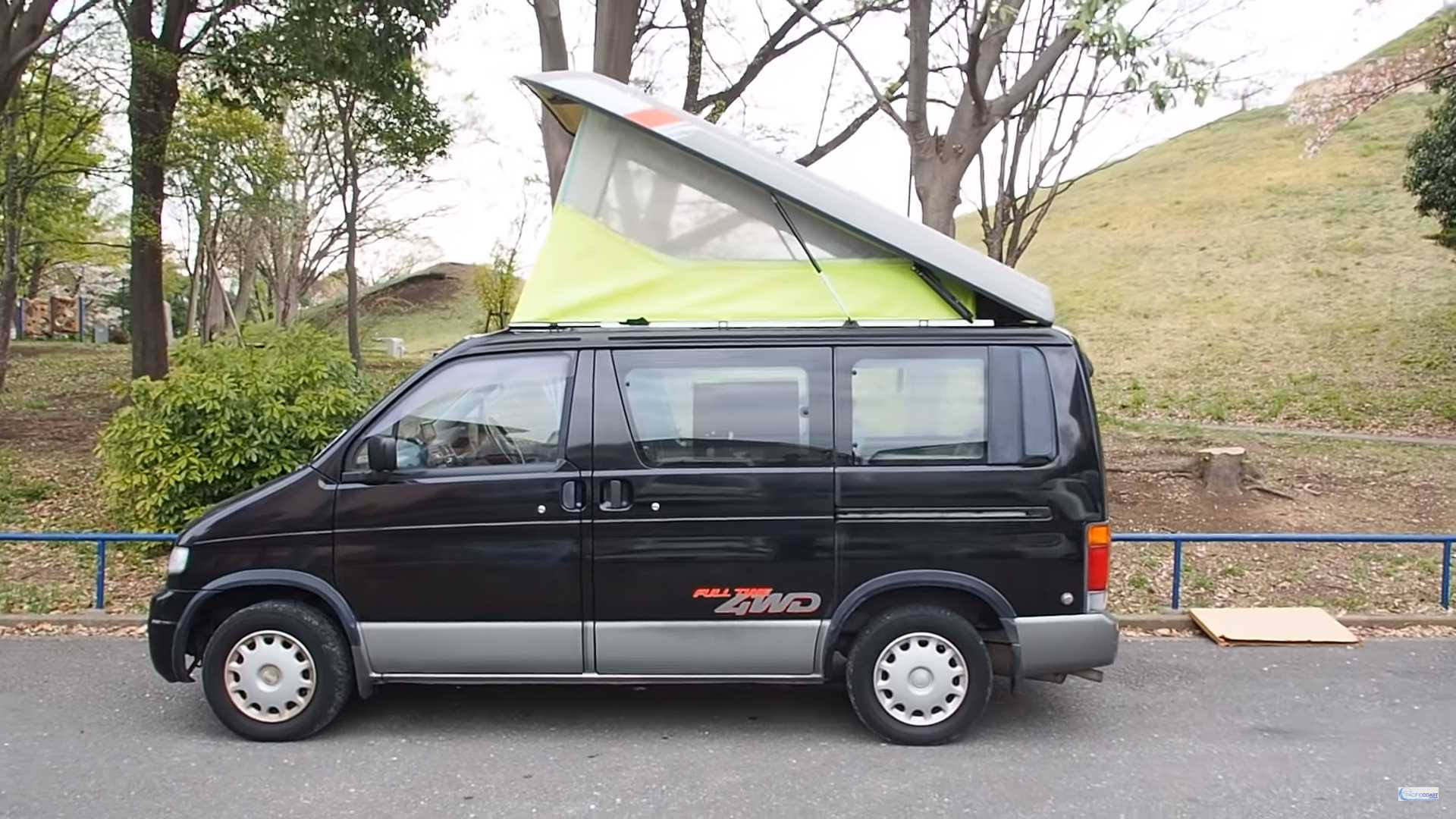 Amazing Ford Camper Van With Rooftop Tent Is Actually An Awd Mazda Diesel Unemploymentrelief Wooden Chair Designs For Living Room Unemploymentrelieforg