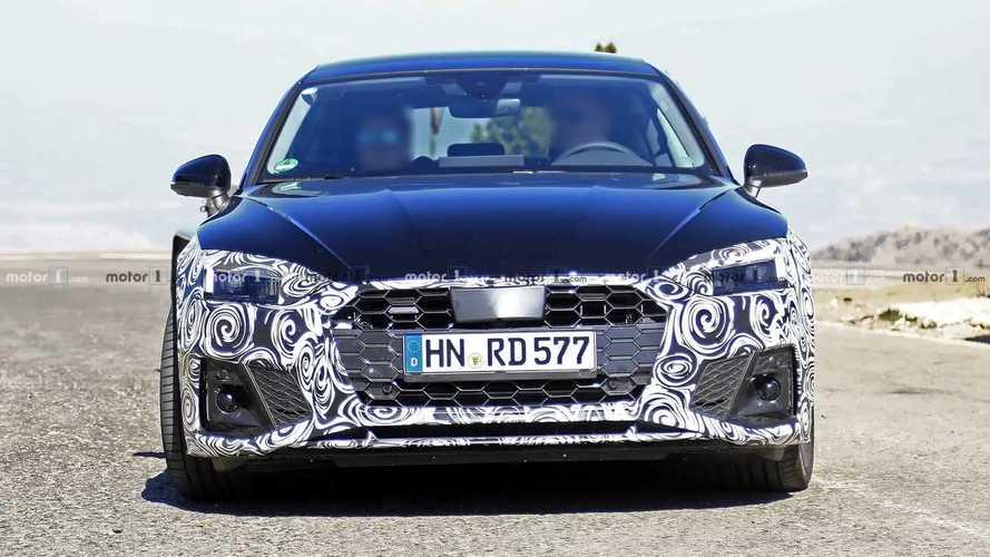 Audi A5 Sportback 2019 Facelift Erlkönigbilder