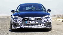 Audi A5 Sportback facelift spy photos