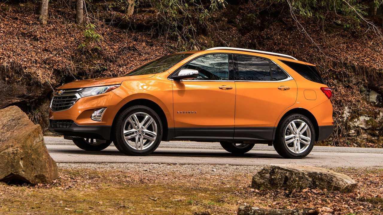 6. Chevrolet Equinox: 5.2 Percent