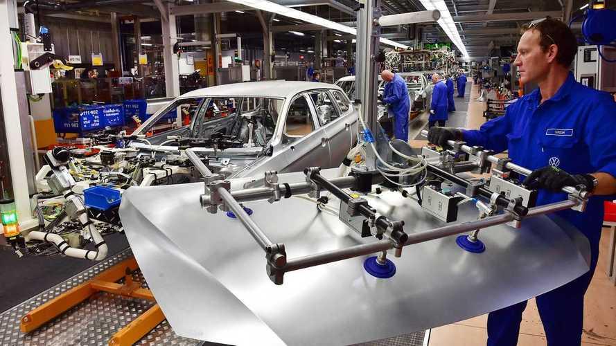 Volkswagen - fábrica de carros elétricos Zwickau