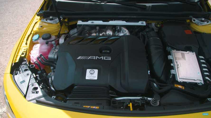 A 45-Motor mit 421 PS könnte bald auch größere Mercedes-AMG antreiben