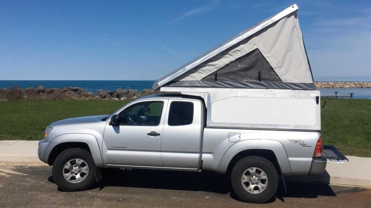 Leentu Sunzal Offers Pop-Up Spot To Camp In Your Pickup