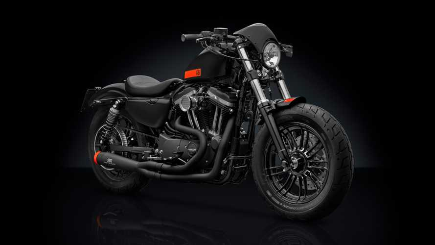 Rizoma personalizza la Harley-Davidson Forty-Eight
