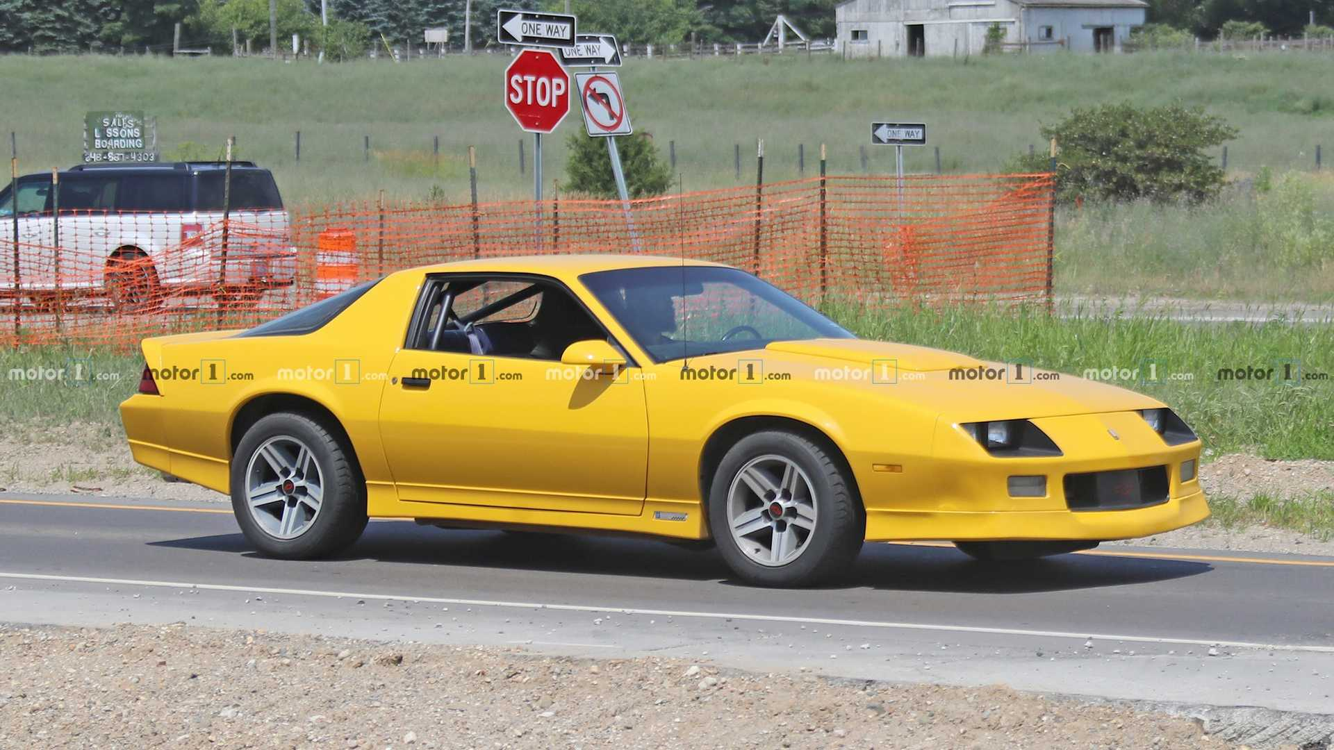 Third-Gen Chevy Camaro Spied Testing At GM Proving Grounds