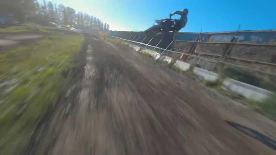 Motocrossers x Drone Racer