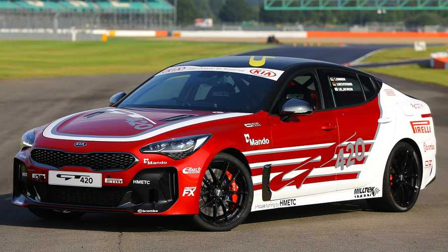 Kia Stinger GT420 Debuts As Unique Track Car Packing 422 HP