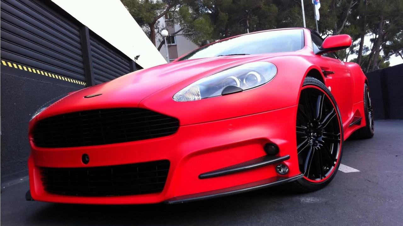 Mansory Aston Martin Dbs With Dartz Red Satin Matt Wrap 03 01 2012