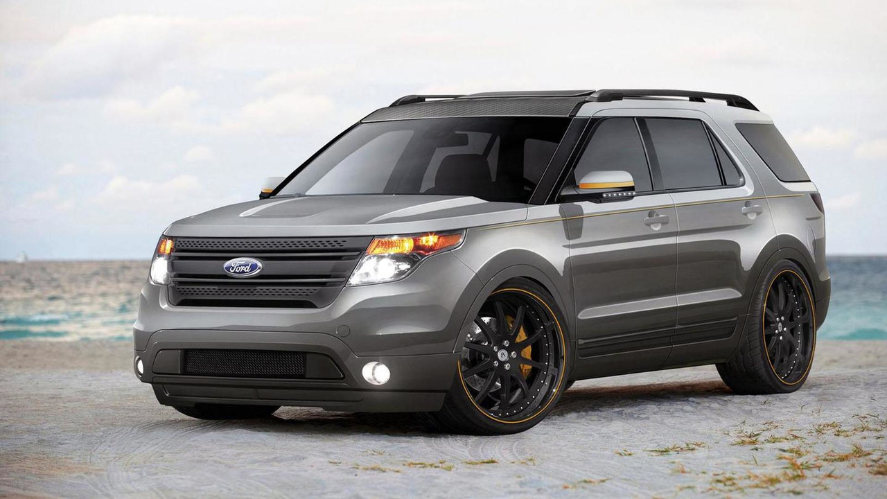 2011 Ford Explorer by Tjin Edition for SEMA - 25.10.2011
