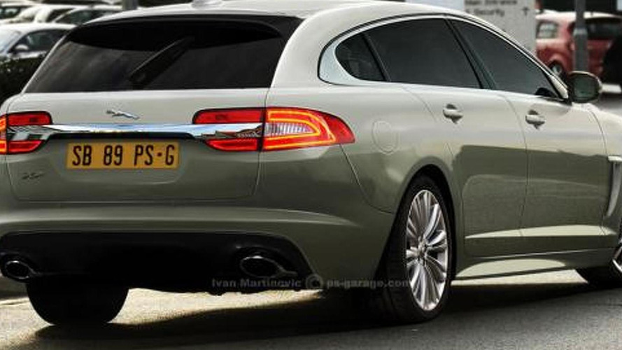 2012 Jaguar XF Sportbrake digitally uncovered