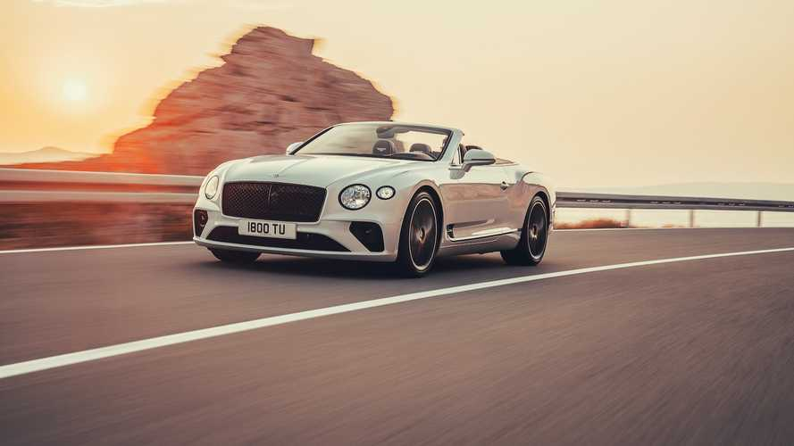 635 lóerővel debütált a nyitott tetős Bentley Continetal GT