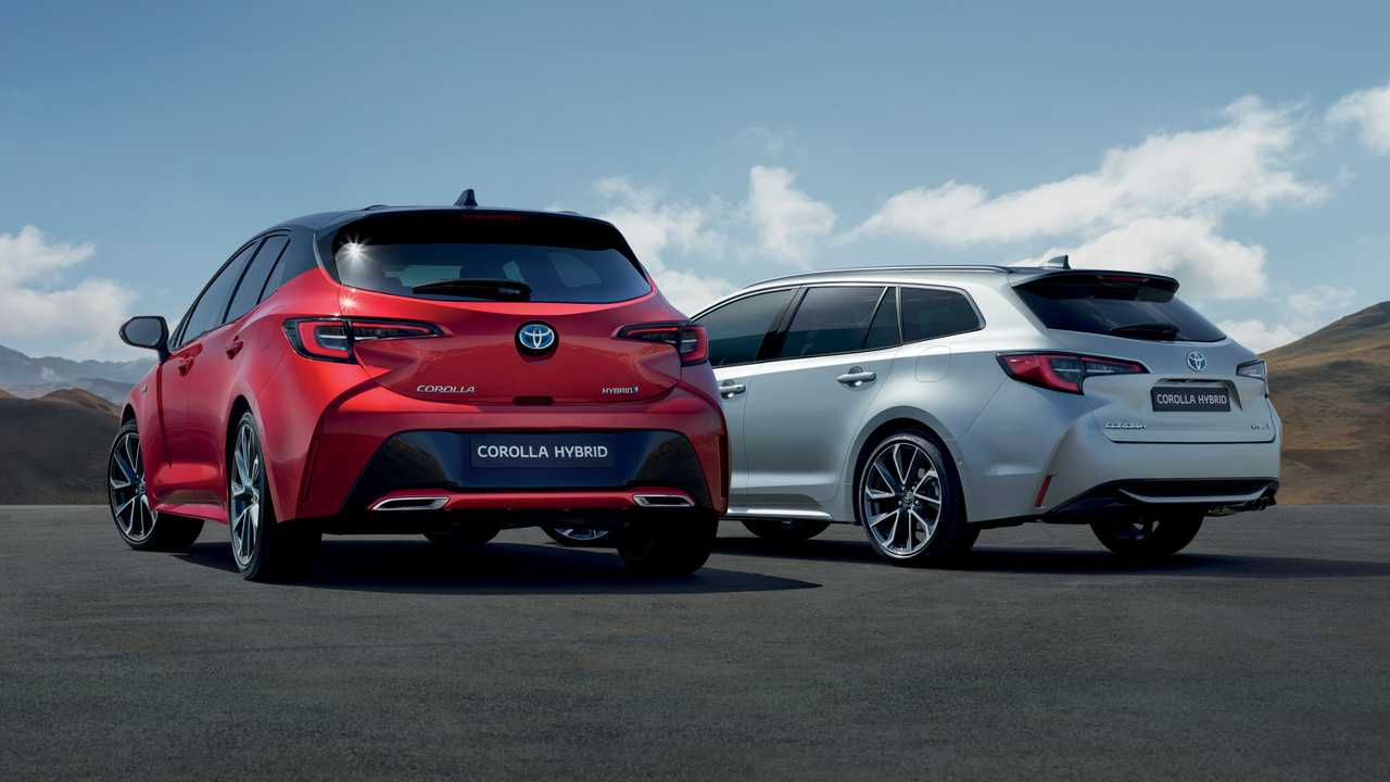 2019 Toyota Corolla hatchback and estate Euro Spec