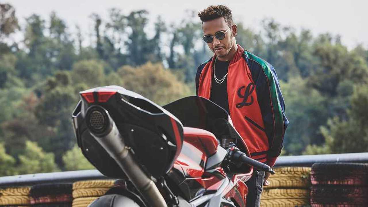 Lewis Hamilton MV Agusta