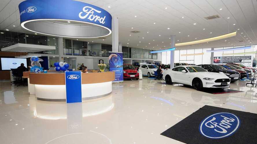 Ford inaugura 1ª concessionária no Brasil com novo padrão global