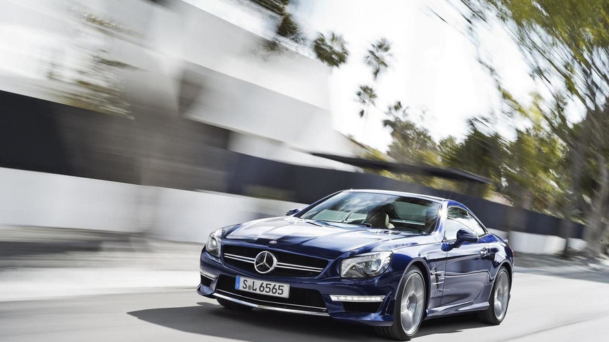2013 Mercedes SL 65 AMG revealed
