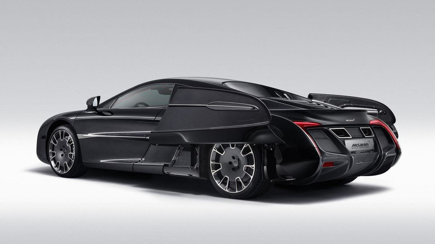 McLaren X-1 concept officially unveiled in Pebble Beach