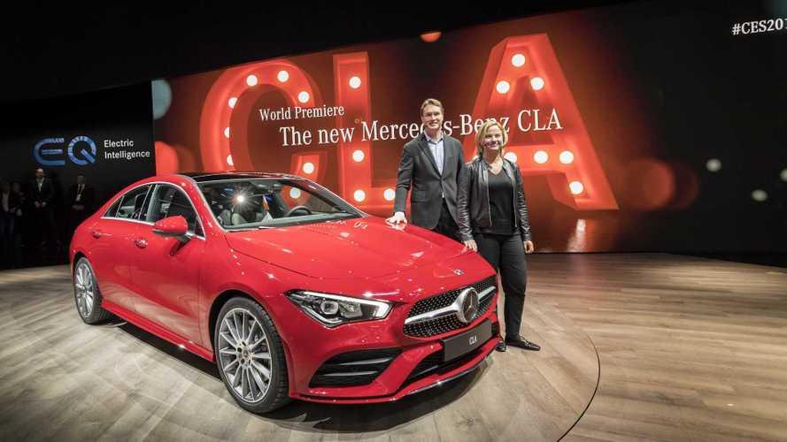 2019 Mercedes CLA'nın canlı görüntüleri geldi