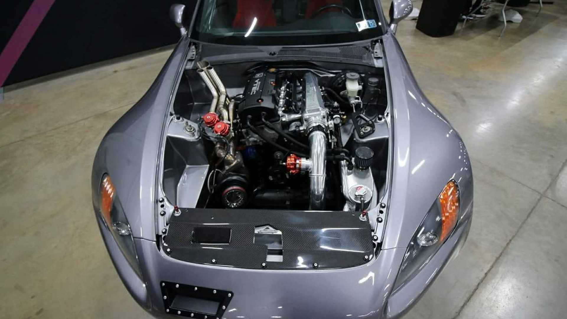 Honda S2000 With Hood-Exit Exhaust Needs A New Home