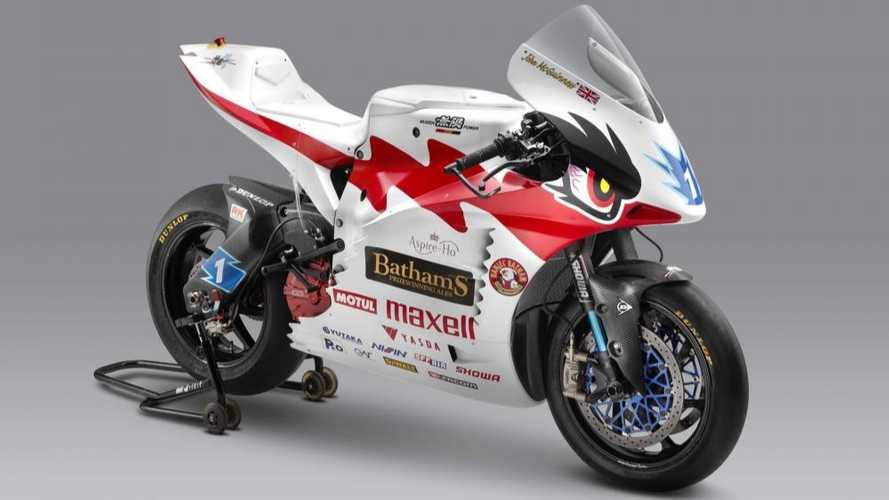 Mugen Shinden Hachi Electric Motorcycle Preps For 2019 TT