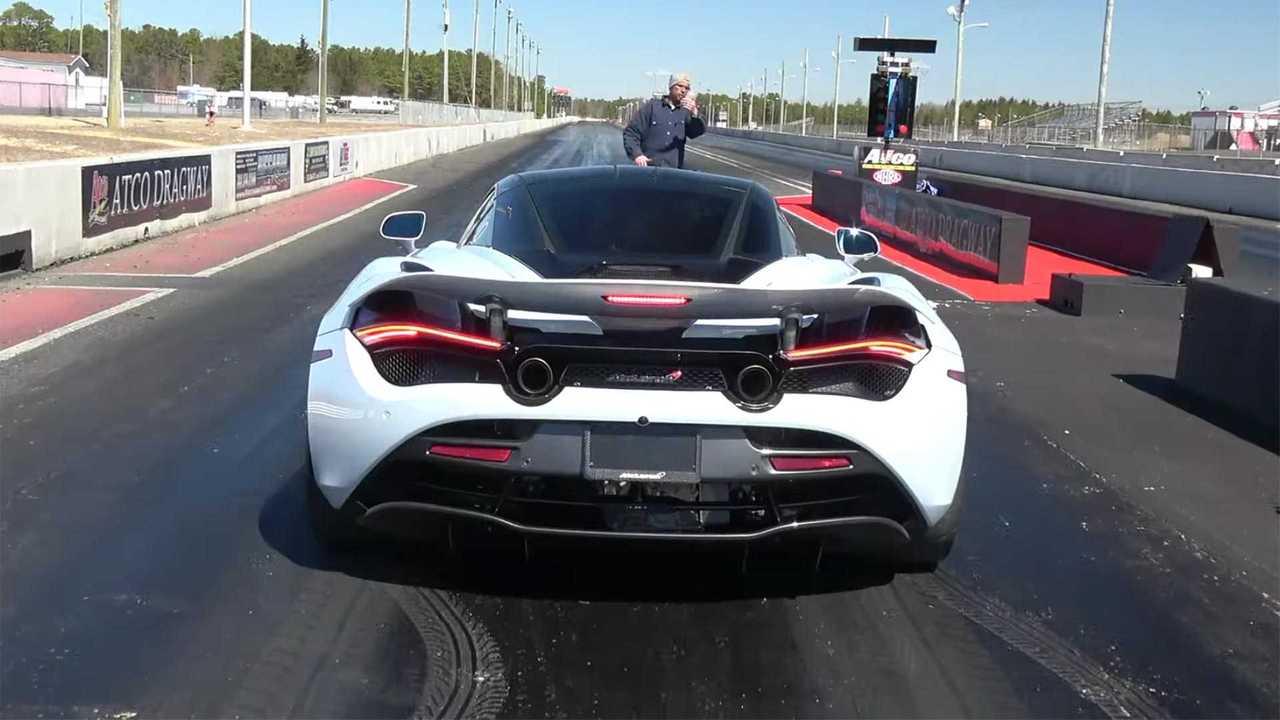 Quickest McLaren 720S Drag Race Video