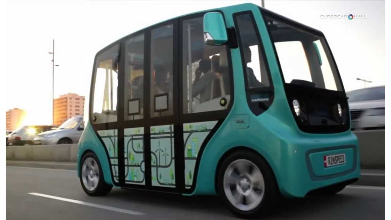 Who Doesn't Want To Drive And Own Their Own Personal Electric Bus?